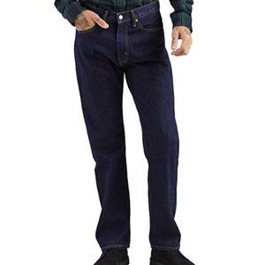 New Levi's Mens 505 Regular Fit Jeans